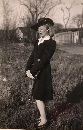 Ruth in hat